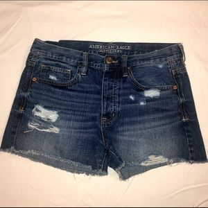 American Eagle Outfitters Denim Cut-off Shorts